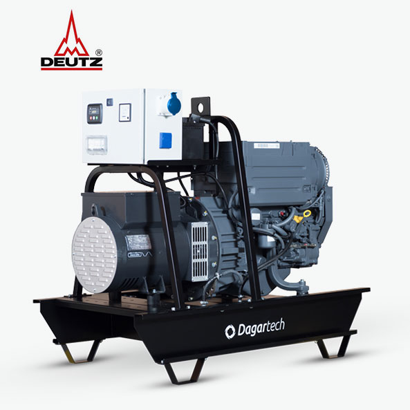 Groupe électrogène de la Gamme Agricole de Dagartech avec moteur Deutz refroidi à l'air