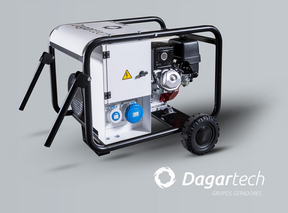 Grupo gerador Portátil para Aluguer de equipamentos