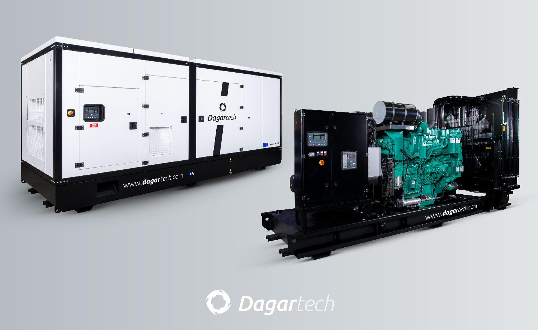 Dagartech generator sets, open and soundproof