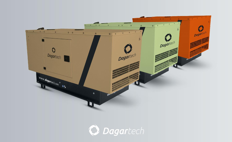 Groupes électrogènes personnalisés Dagartech.