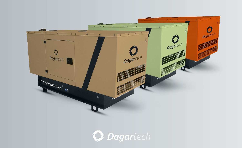 Grupos electrógenos personalizados Dagartech.