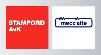 Alternateurs utilisés dans les groupes électrogènes : Stamford et MeccAlte.